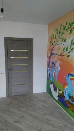 Установка дверей ( входных и межкомнатных ) .