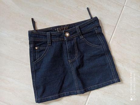 DENIM spódniczka jeans jak nowa 134