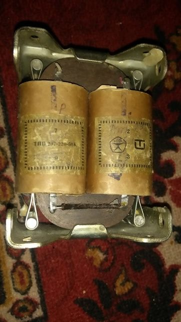трансформатор тпп 207-220-50
