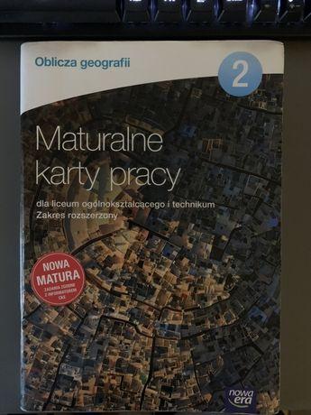 Maturalne karty pracy ćwiczeniowka do geografii klasa 2