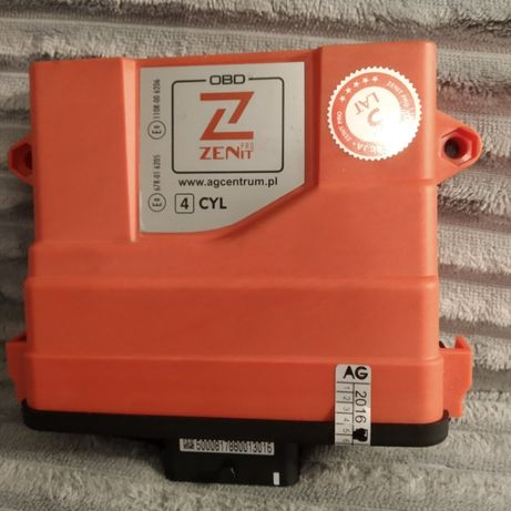 Sterownik komputer ZENIT PRO OBD 4cyl- stan Idealny - używany miesiąc