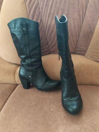 Осінні чоботи на флісі 36 р