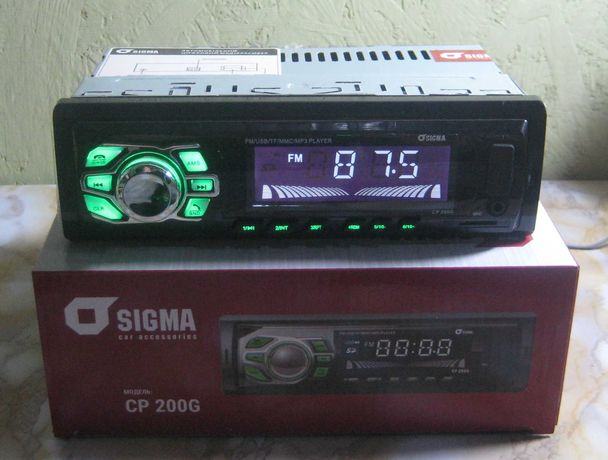 Автомагнитола Sigma CP-200G (Bluetooth) (новая, магазин)