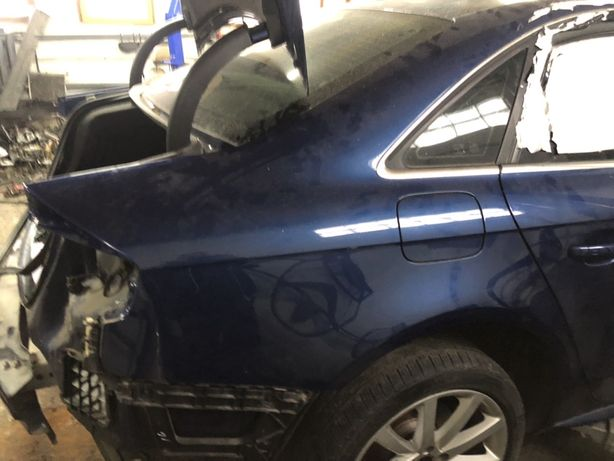 Audi A4 B8 Крыло задние/Крило задне/Кузов/ Порог