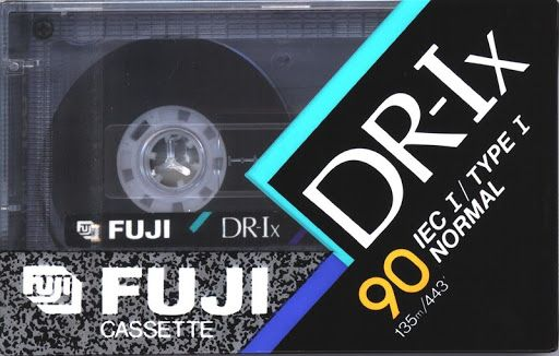 кассета Fuji аудиокассета