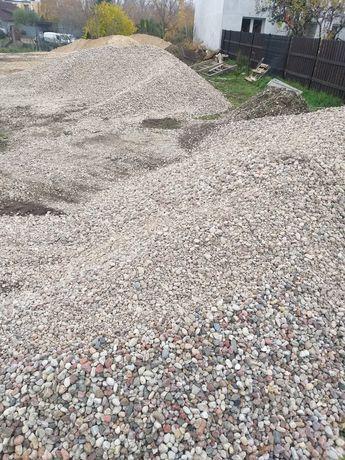 Kamień płukany 2-8, 8-16, 16-32, kruszywo, piasek,( Brodnica, Rypin)