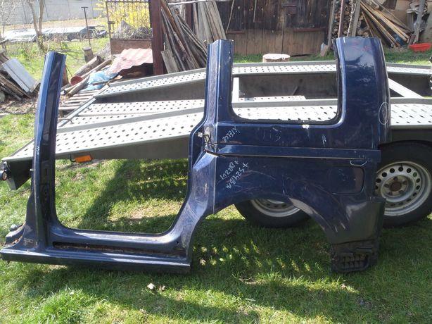 Volkswagen  Caddy 03-15 ćwiartka lewy tył przód  błotnik słupek próg
