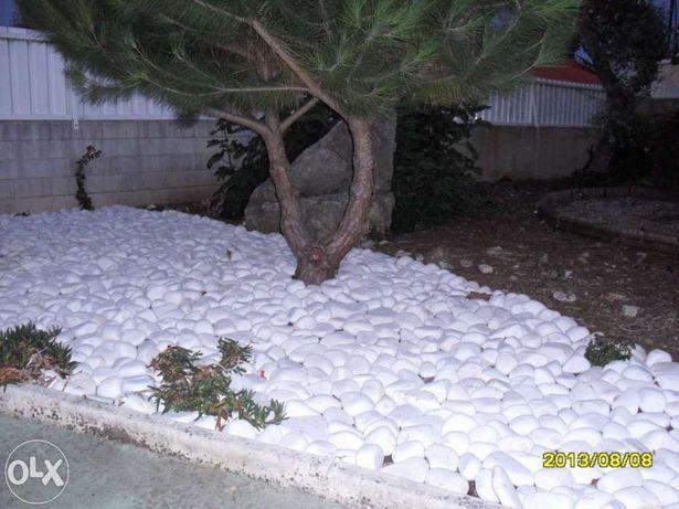 Pedras para jardim, seixos rolados