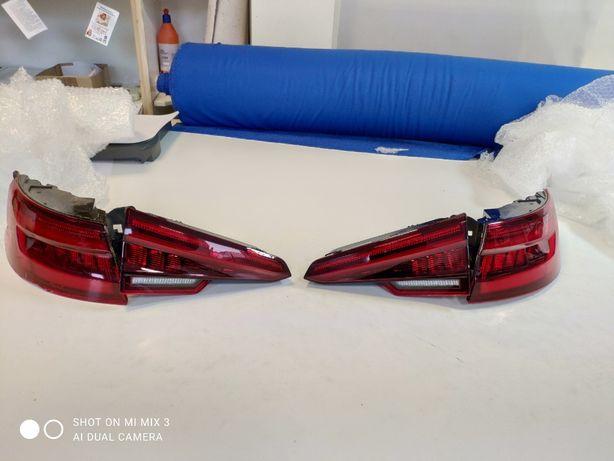Audi A4b9 lampy tylne LED matrix