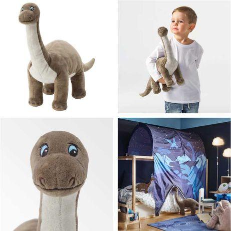 Плюшевая игрушка Бронтозавр 55 см IKEA Динозавр - детская мягкая