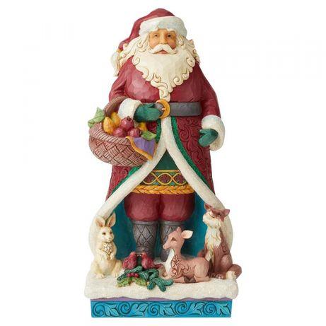 Mikołaj zimowa kraina czarów figurka A Festive Forage Jim Shore święta
