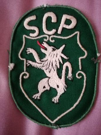 Emblema do Sporting muito antigo.