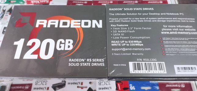 """SSD AMD Radeon R5 120GB 2.5"""" 7мм SATA-3 (R5SL120G)"""