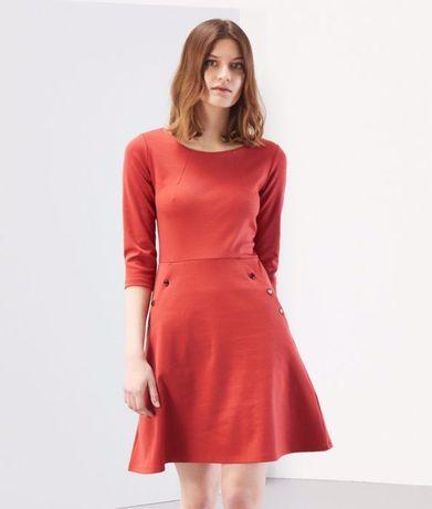 Плаття, платье Reserved красное червоне сукня