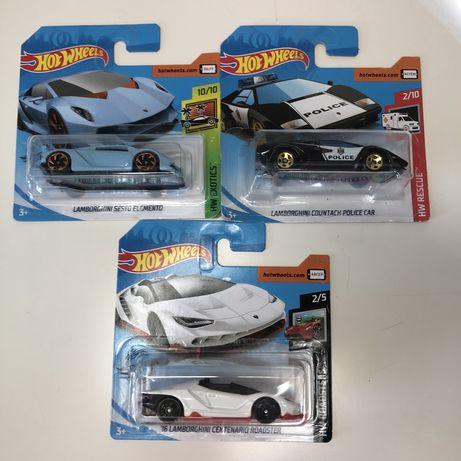 Hot Wheels Italianos(Lamborghini, Pagani, etc)