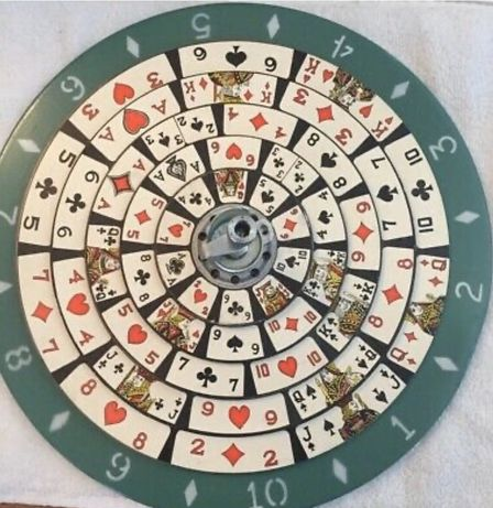 Roleta. Poker. 1950