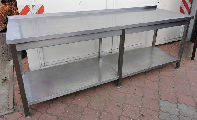 Stół gastronomiczny Stalgast 220x70x85