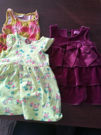 Sukienki 62 i 68 i 74