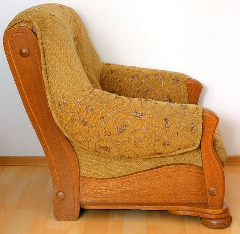 Dwa fotele za 870zł, lite drewno. Dąb rustykalny