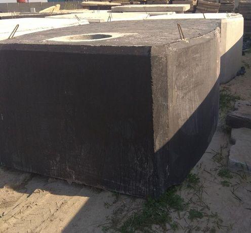 Zbiornik na gnojówkę gnojowicę deszczówkę szamba betonowe 12m3 szambo