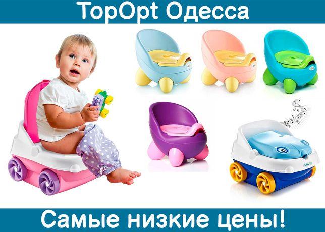 Музыкальный детский горшок, туалет, машинка с музыкой Baby jem