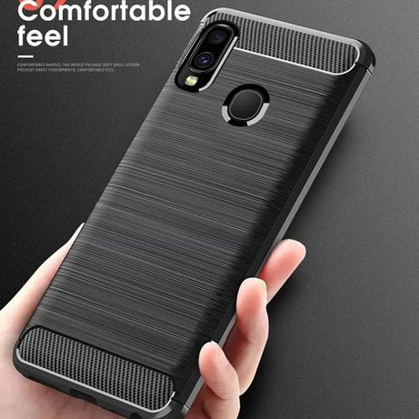 Capa Fibra Carbono Samsung S10 Plus / A50 / A70 / Note 10 -24h