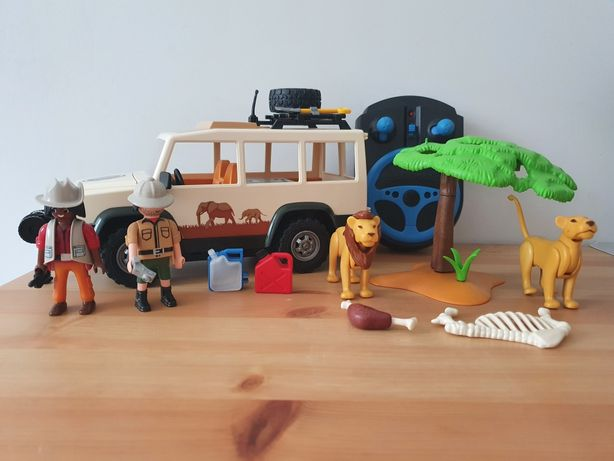 Playmobil Safari WildLife samochód 6798 sterowany