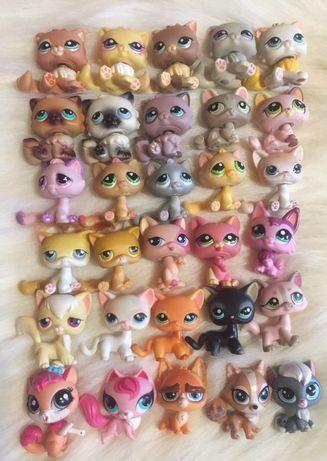 Лпс lps littlest pet shop пет шоп петы кошки собаки стоячки зайцы разн