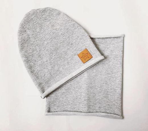Zestaw czapka komin lub chusta
