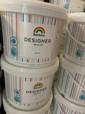 Farba Beckers Designer White 10L