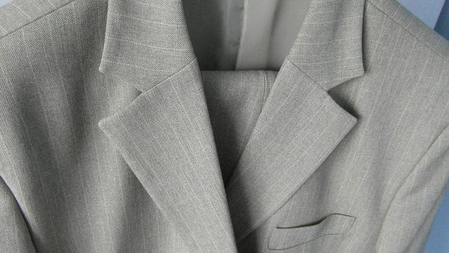 Garnitur elegancki 3 częściowy_1 raz ubrany_172-176cm_100-110kg_XL/XXL