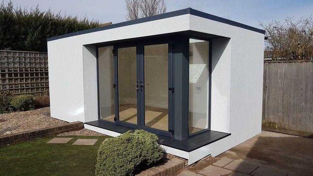 Módulo pré-fabricado - habitação, estúdio, escritório ou ginásio