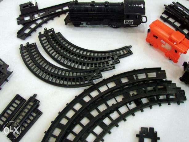 Linha de Comboio com carruagens / vagões - anos 90