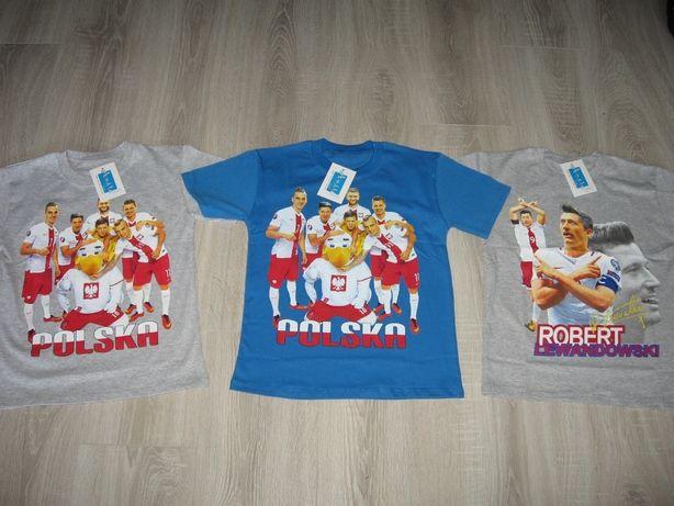 Koszulki z krótkim rękawem Drużyny Polski rozmiary 116 do 146