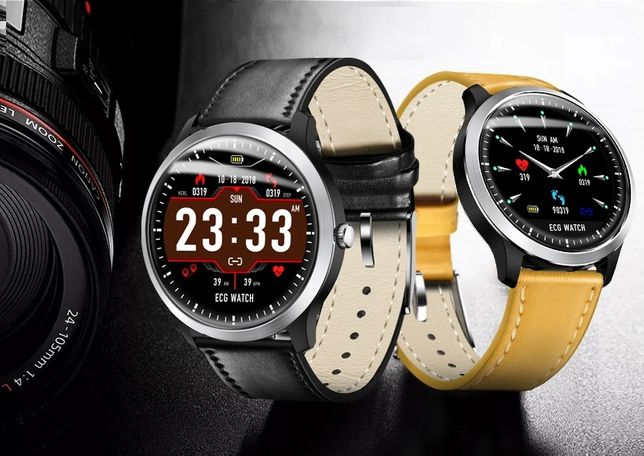 SMARTWATCH zegarek EKG IP67 Puls Ciśnienie