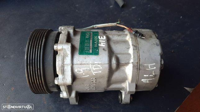 Compressor AC VW Golf IV / Seat Ibiza 1.9 Tdi Ref. 1J0820803F