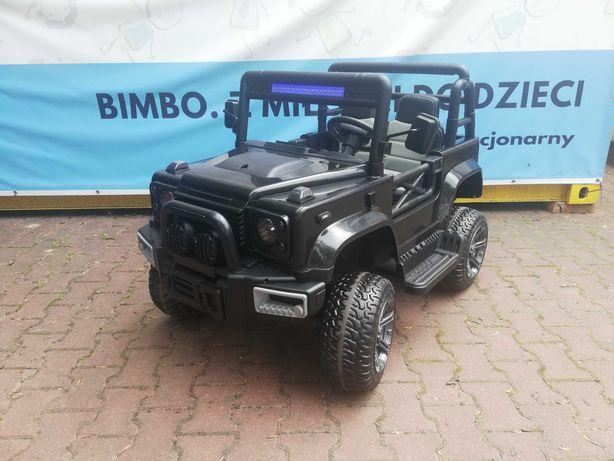 OGROMNY JEEP 4x4 do 50kg Terenowy auto na akumulator BBH-0001