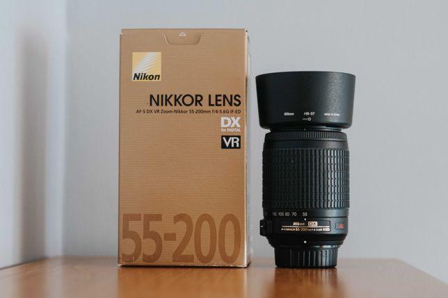 Nikkor Lens 55-200 VR f/4-5.6