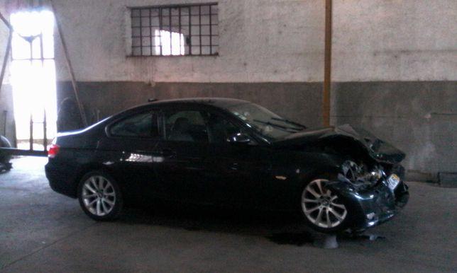 BMW série 3, coupé, acidentado