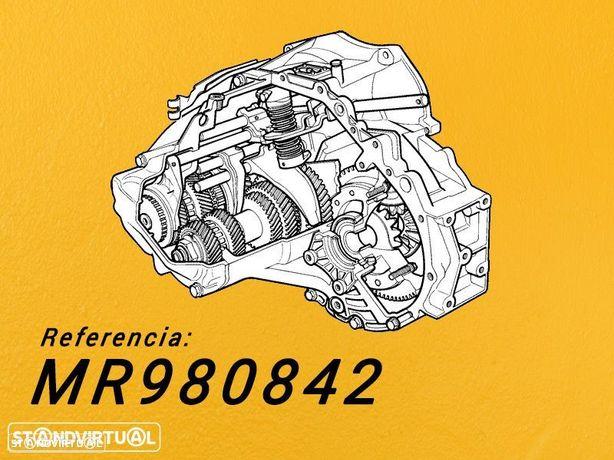 Montagem Caixa de Velocidades Recondicionada MITSUBISHI L200  2.5 Tdi de 2005 Ref: MR980842