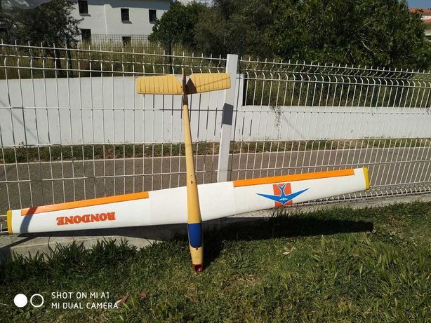 Avião rc planador ou motoplanador de 2m envergadura 2000mm