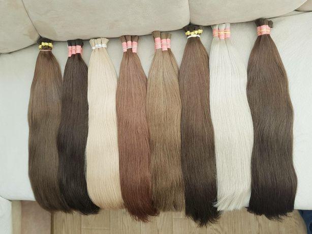 Натуральные Волосы в срезах для любого вида Наращивания