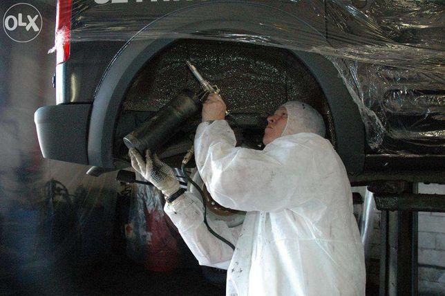 Мовиль и антикарозионая обработка днища автомобиля