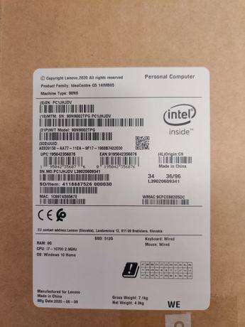 Desktop Gaming Lenovo I7-10700