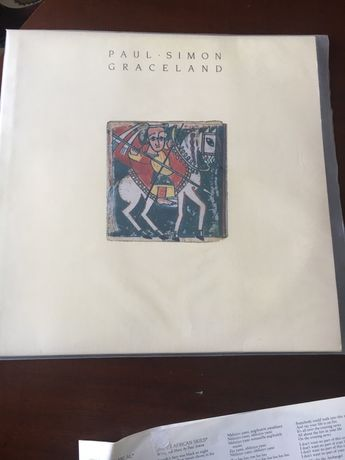 LP vinil de paul.simon Graceland