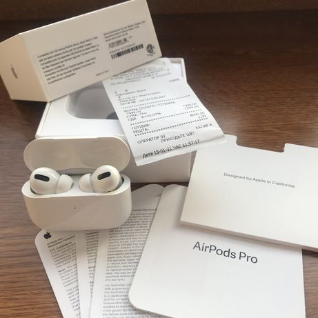 Наушники AirPods Pro/ Оригинал