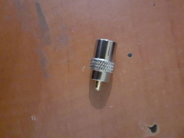 przejściówka mcx iec do tunera dvb-t gps adapter
