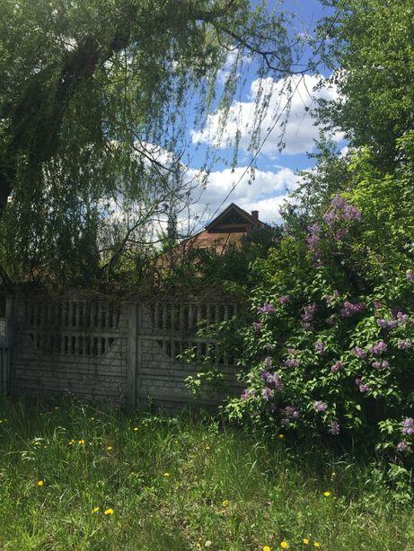земля с домом и с огородом