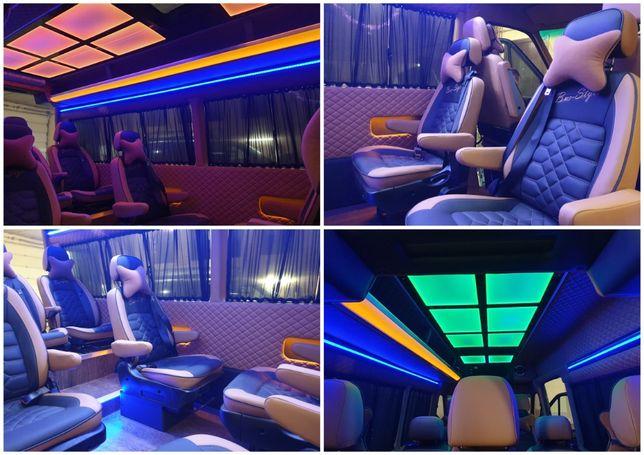 от 465$ переоборудование микроавтобусов Бердичев переделка салона буса