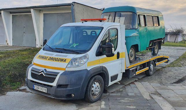 Pomoc Drogowa Holowanie Auto laweta Transport
